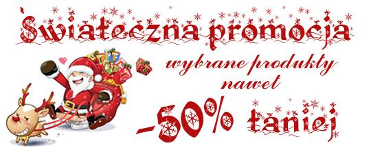 Świąteczna Promocja Wybrane Produkty Nawet -50% Taniej